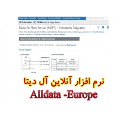 نرم افزار آنلاین آل دیتا Alldata - خودروهای تحت پوشش قاره اروپا